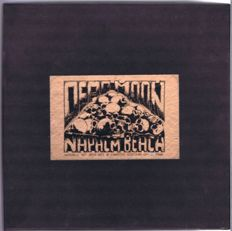 """Dead Moon / Napalm Beach 2x10"""" box-set– Live From Beyond / Rumblin' Thunder (Dreamhunter – K001K 10) made in Germany 1991"""