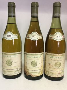 1975 Meursault, Caves Auguste Moreau Burgundy, France 3 bottles 0.75 l
