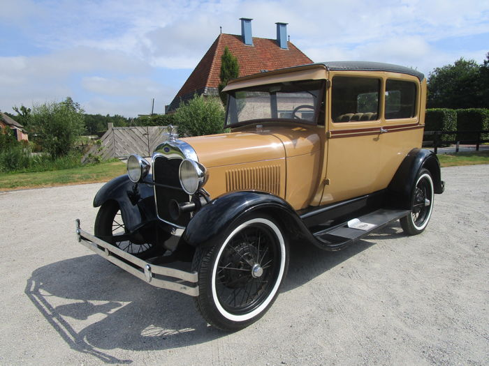 Ford USA - Model A - 1928