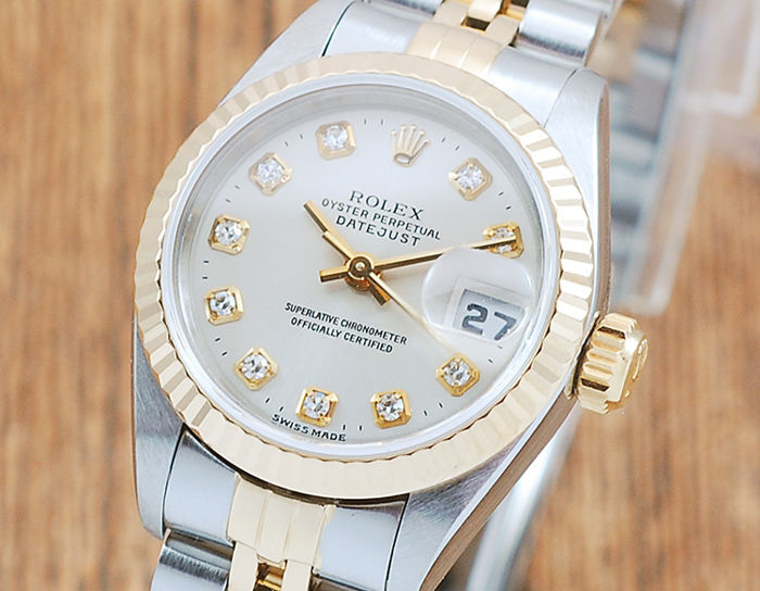 reputable site 2928a 1c8c9 Rolex - Oyster Perpetual DateJust - 69173G - Women - 1990-1999 - Catawiki