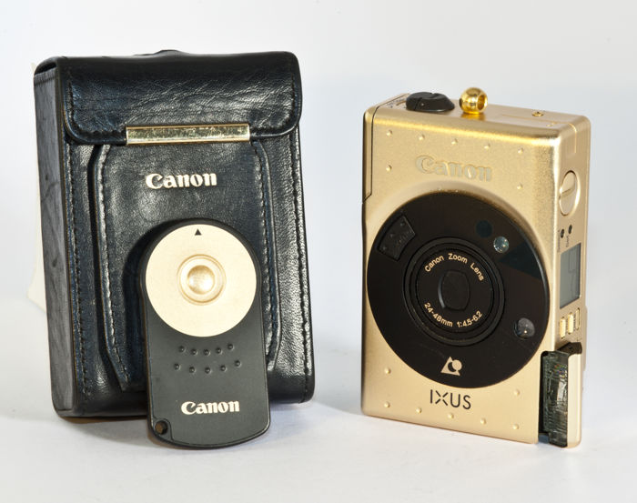 Canon IXUS Limited Edition APS camera