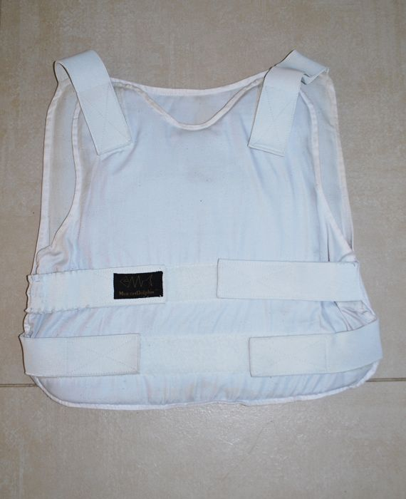 Kevlar bulletproof vest, protection 3a, adjustable size, Marom Dolphin, high protection with trauma plate for the heart
