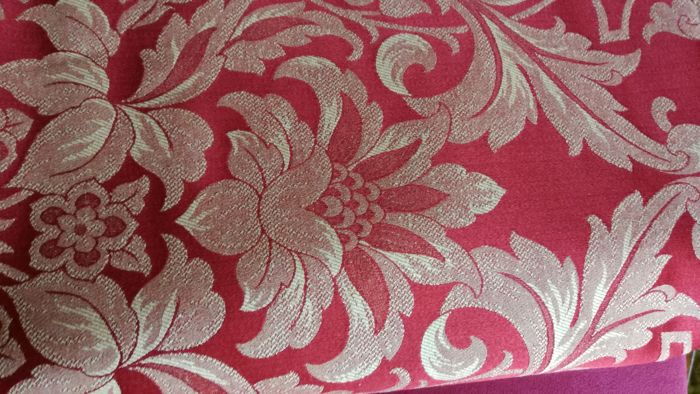 Damask Fabric - Italian handicraft 280 x 300 cm