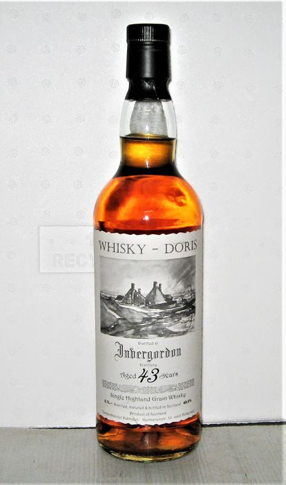 Invergordon 1972 43 years old - 70cl - 49% - Whisky Doris - only 241 bottles
