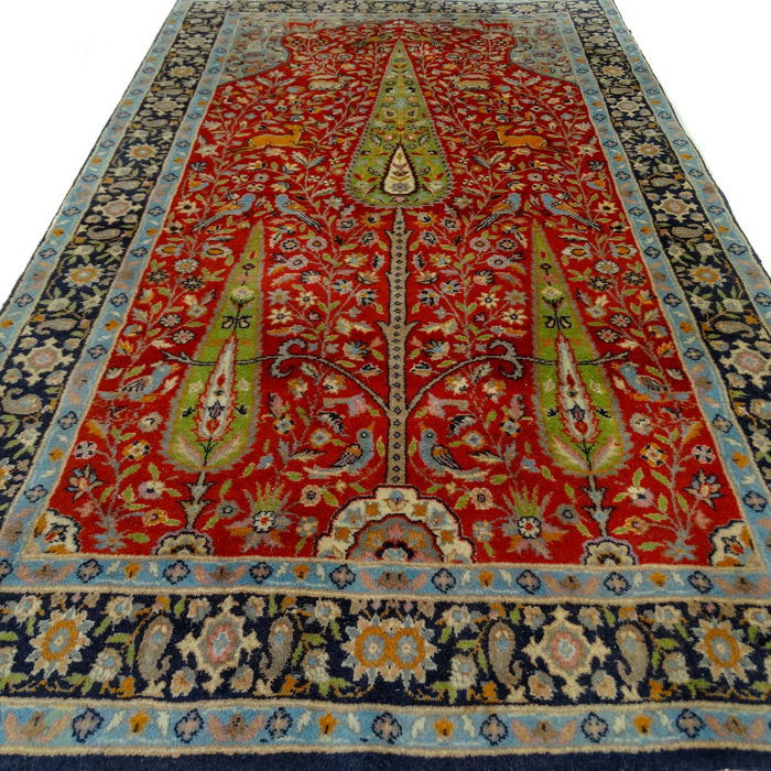 Pakistani carpet - 156 x 93 cm.