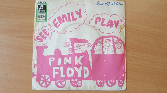 Pink Floyd - See Emily Play / Scarecrow in the original sleeve