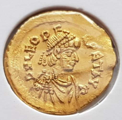 Empire byzantin - Tremissis - Leo I (AD 457-474). Constantinople mint. - Or