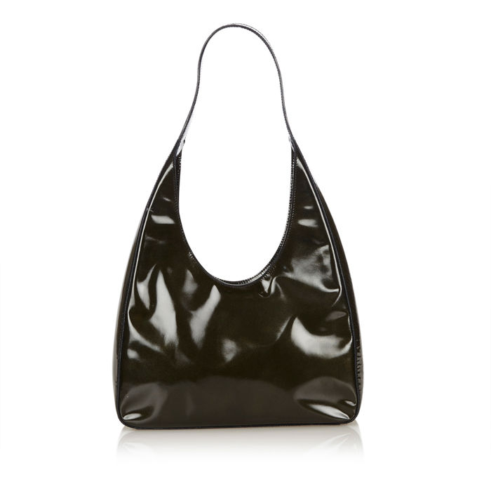Prada - Patent Leather Shoulder Bag