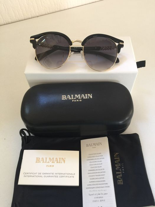 Balmain - New - NO RESERVE PRICE -  Never Used - Full set - Sunglasses