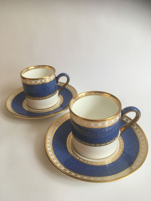 Wedgwood - 2 cups and saucers Ulander