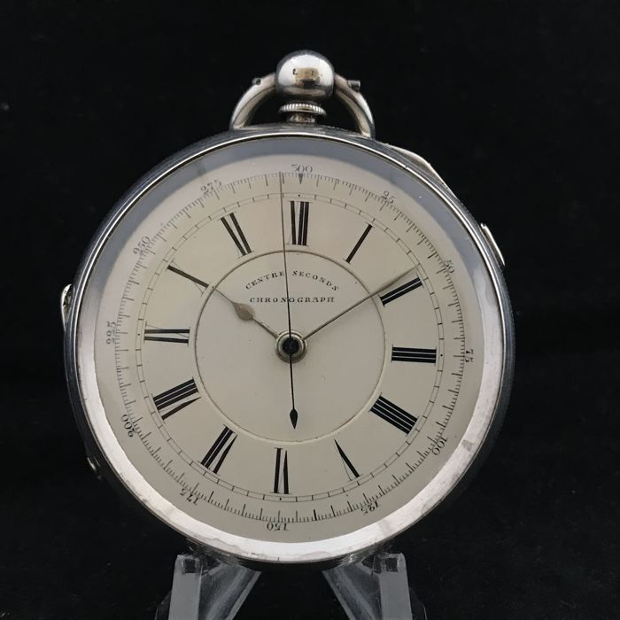 Zilver doctors chronograph  - Heren - 1893