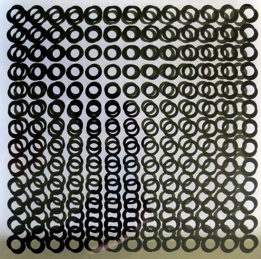 Victor Vasarely - Structures binaires permutables