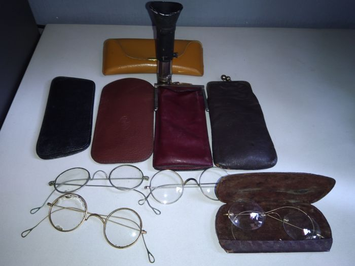 Antique glasses - Justophot - 19th / 20th century