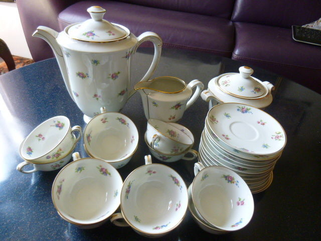 Manufacture St. Etienne, Limoges - coffee service for 12 people