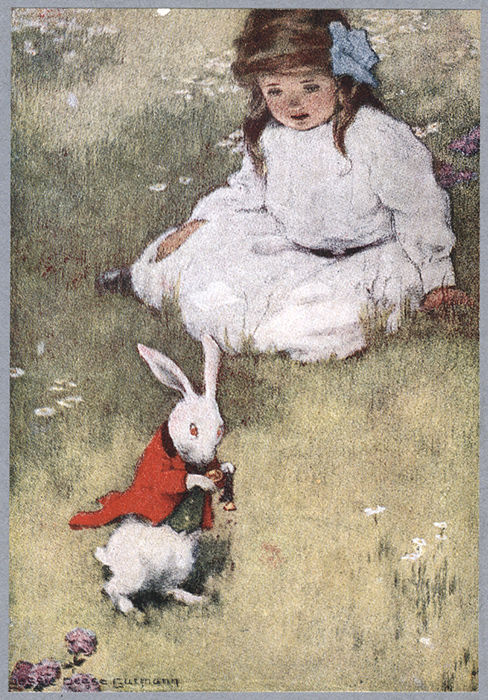 Pease & Micklewright (illustrators); Lewis Carroll - Alice's Adventures in Wonderland - ca. 1930