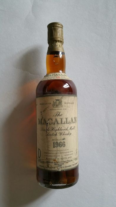 The Macallan 1966 18 years old - matured in sherry wood OB