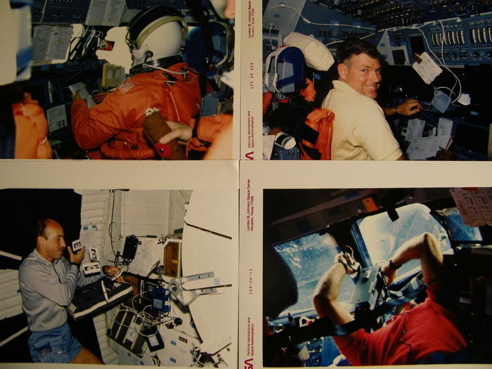 Space mission STS-29: Four NASA photos