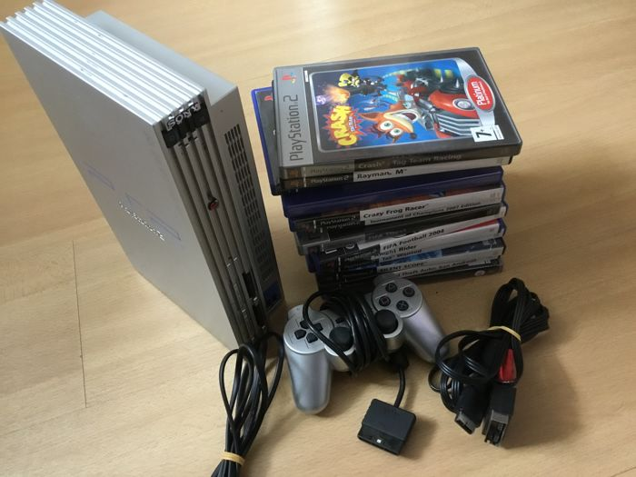 PlayStation 2 including 13 games like Crash + Rayman and more