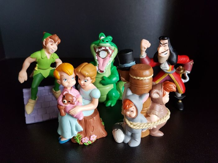Disney Store 5 Figurines Lilclassics Peter Pan Other Catawiki