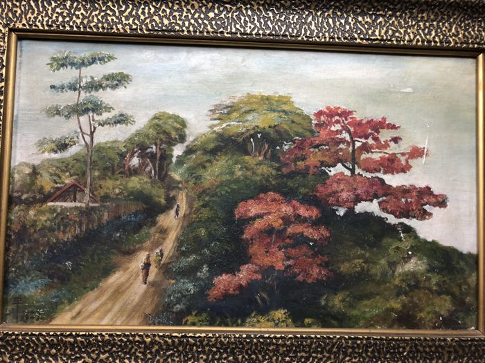 Chinese oil painting - China - 2nd half of the 20th century