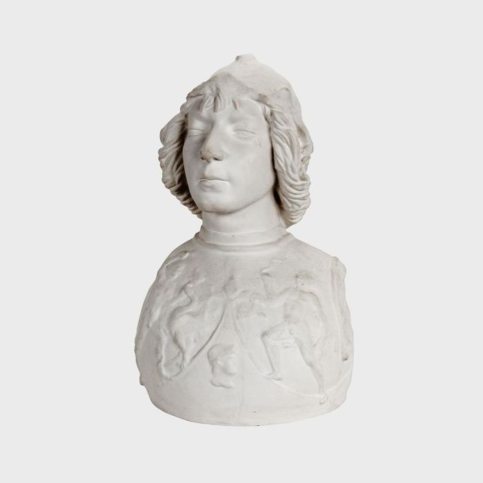 Bust of Antonio Pollaiolo in Plaster.