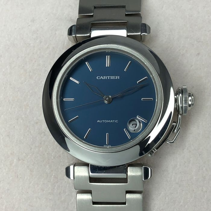 Cartier - Pasha Stainless Steel Automatic Watch - Ref. 1031 - Heren - 1990-1999