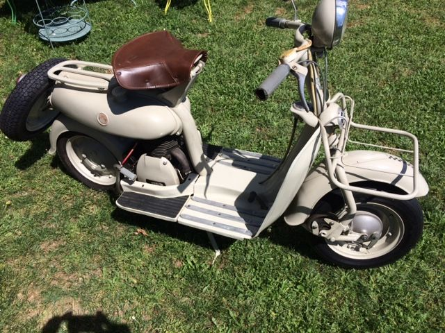 Motoconfort - Mobyscooter SB - 125 cc - 1955