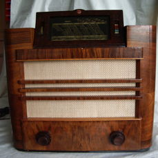 Philips tube radio type 695A-06 - RONDO from 1936, beautifully restored, complete and playing
