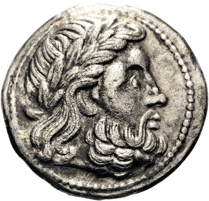 Celtic coins - Lower Danube. AR Tetradrachm, early imitation of Philip II. Early 3rd century BC - Silver