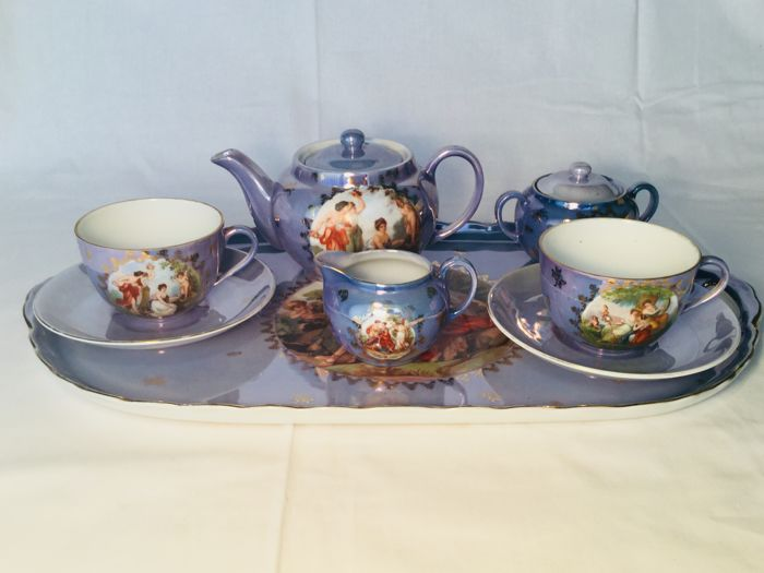 VICTORIA - tea or coffee service for two people - tête-a-tête service