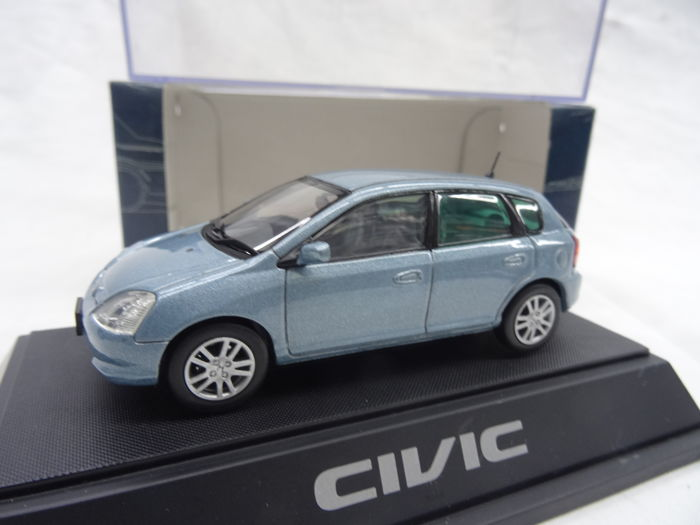 Ebbro 143 Honda Civic Farbe Blau Metallic Catawiki