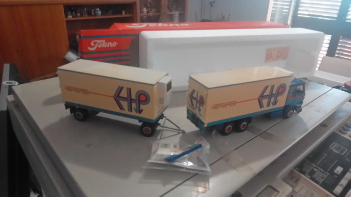 Tekno - 1:50 - Scania 142 prins de lier holland international  - Motrice e rimorchio
