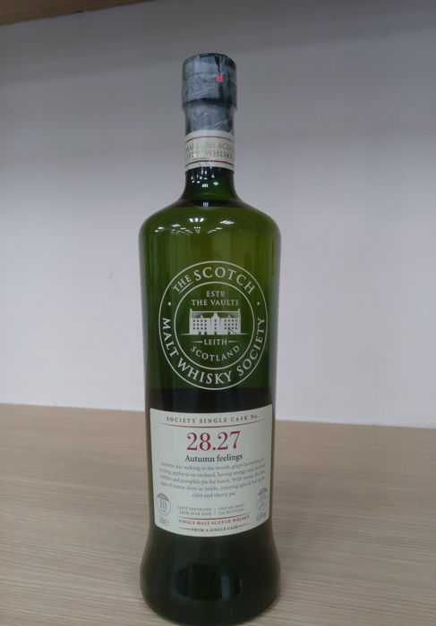 The Scotch Malt Whisky Society Cask No. 28.27 Autumn Feeling
