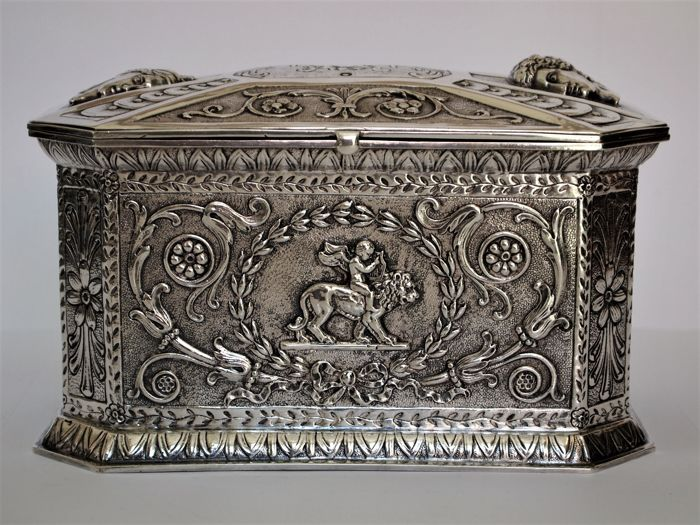 Wedding gift Box, Hanau - Plata - Alemania - 1850-1899