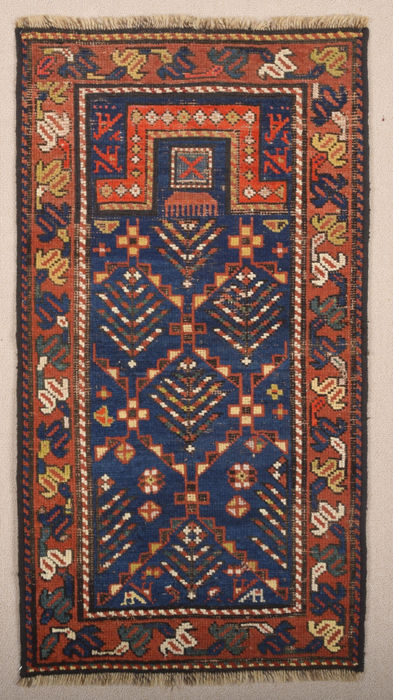 Caucasian Prayer Rug Size 53 x 107