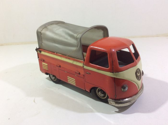 Volkswagen bus GOSO type T1 pick up with hood Germany 1950s