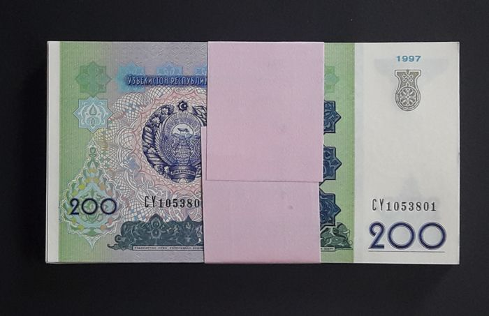 Lot of 5 Bank Notes from Vietnam 1000 Dong Uncirculated