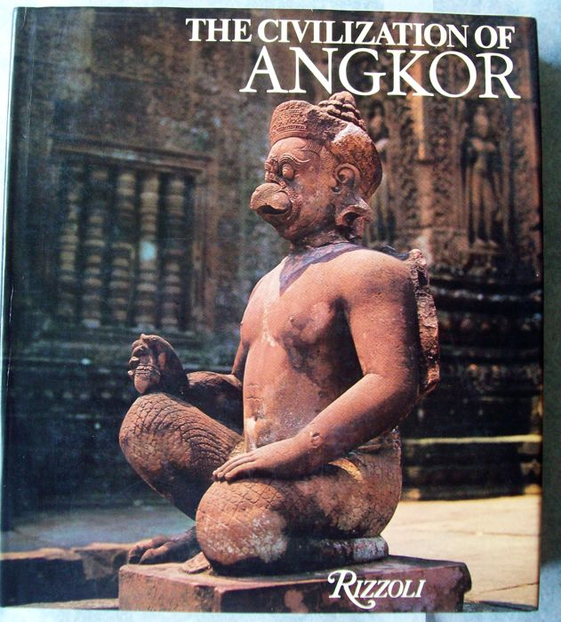 Lot with 4 books on the art and culture of the Khmer people