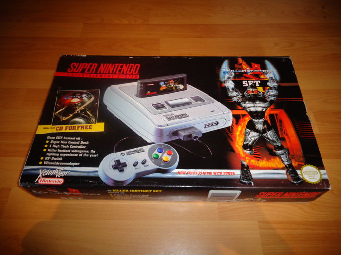 "Snes ""Killer Instinct Edition"" Extremely Rare in this condition, Fully complete even with Killer Instinct CD"
