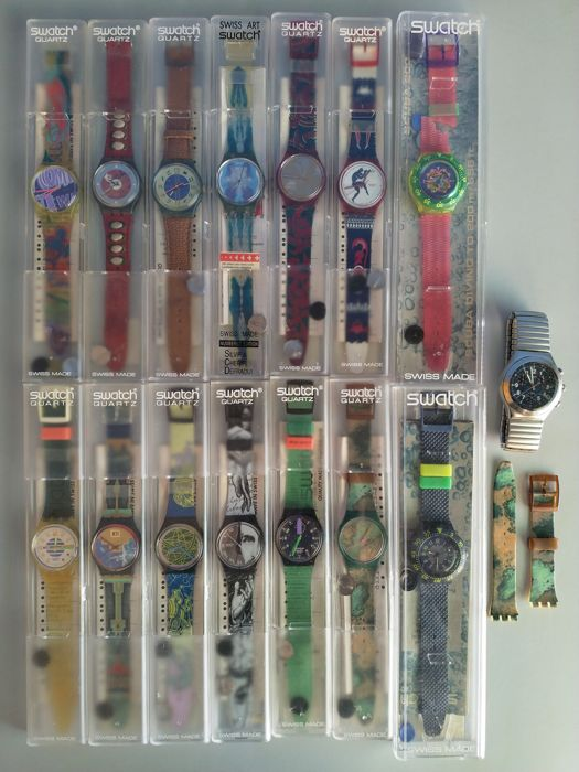 Swatch - Lot of 15 different models - Unisex