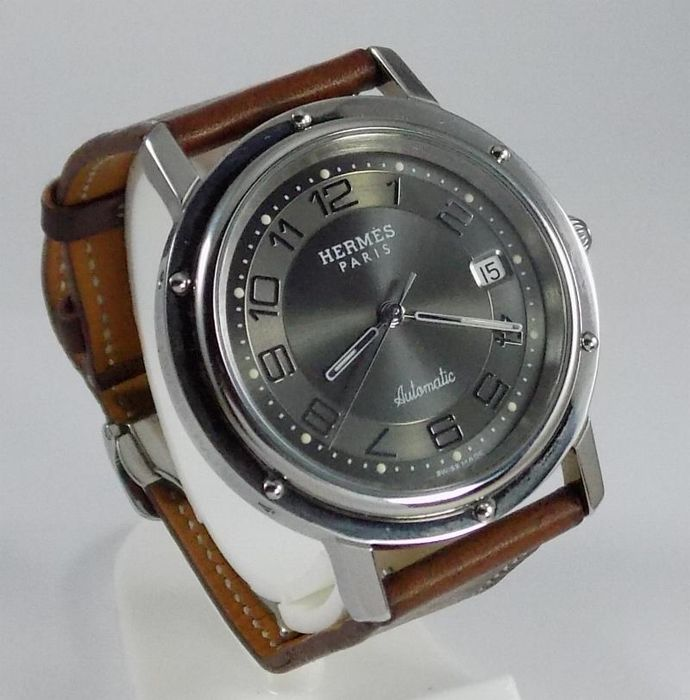 3145b6cb094 Hermès - Clipper - Dress - Gray Shadow - CL1.810 - Men - 2000 s ...