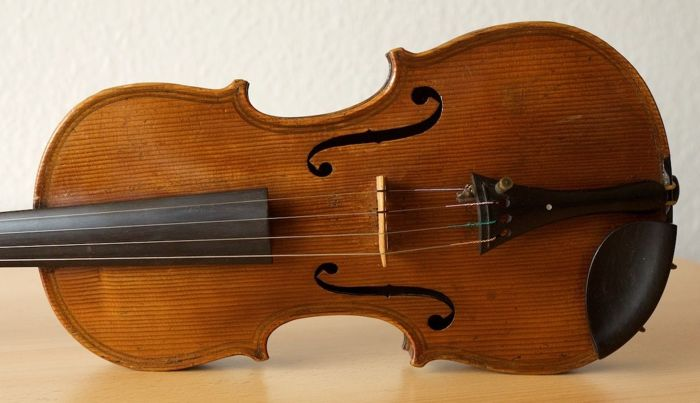 Gorgeous Master Violin:  Gaetano Pafta Milanefe, allieuo dell Amati di Cremona, all Pallada in Brescia 1737