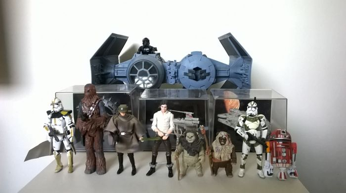 Star Wars: konvolut figurines & vehicles