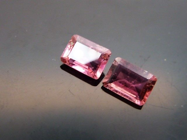 Pair of Rubellite Tourmalines - 1.59 ct - **No Reserve Price**