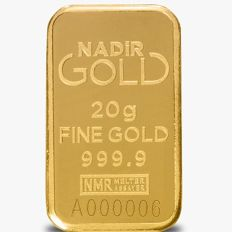 NADIR- 20g - 999.9/1000 - Minted/ Sealed