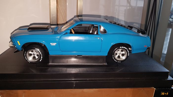 Ertl - 1:18 - Ford Mustang 429 Boss 429 - série gone in 60 seconds