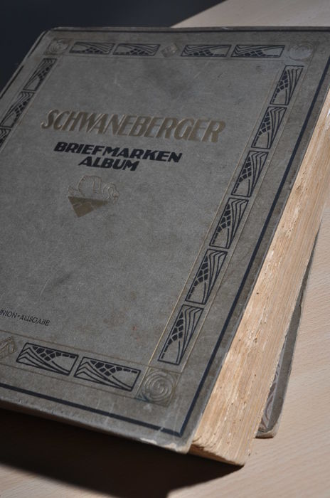 Wereld - Collection in old Schwaneberger album for 1925