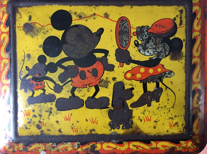 Disney/Hoffmann - Tin Box - Mickey Mouse - (1930)