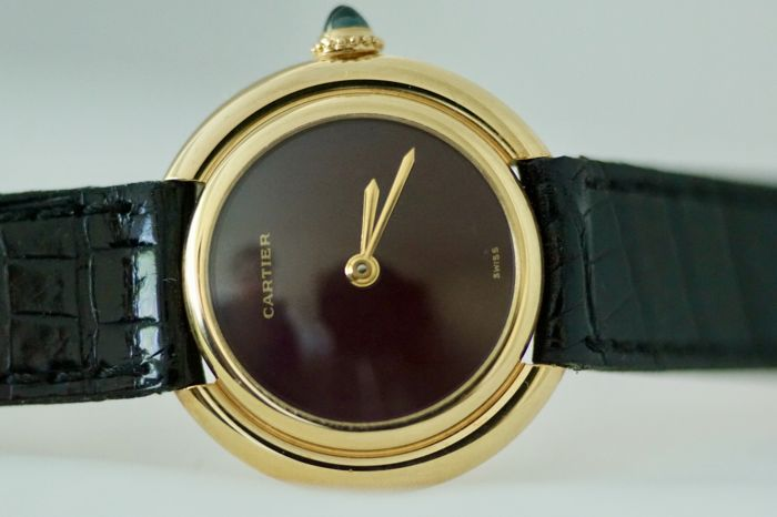 Cartier - Vendome Ronde 18k N.O.S - 180698 - Mujer - 1980-1989