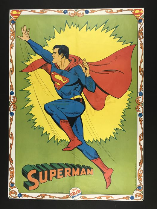 "Superman - poster ""Total Club"" - First edition - (1967)"